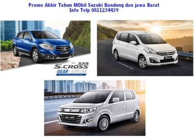 Promo Harga dan Kredit Discount Akhir tahun Mobil Suzuki