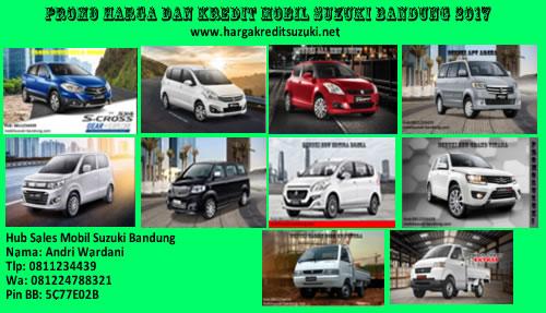 Promo Harga dan Kredit Dp Ringan Mobil Suzuki Bandung
