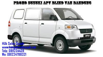 Promo Harga OTR dan Kredit Murah Suzuki Apv Blind Van Bandung
