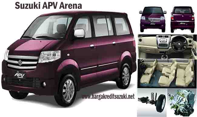 Promo Harga Terbaru dan Kredit Murah Ringan Suzuki Apv Arena di Garut