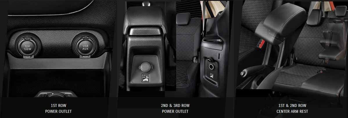 Spesifikasi dan Tampilan Interior Belakang Suzuki xl7