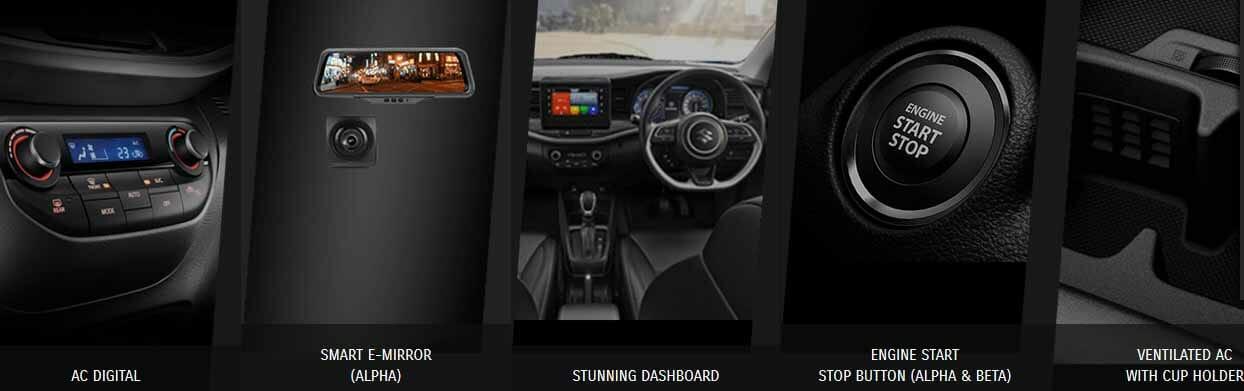 Spesifikasi dan Tampilan Interior Depan Suzuki xl7