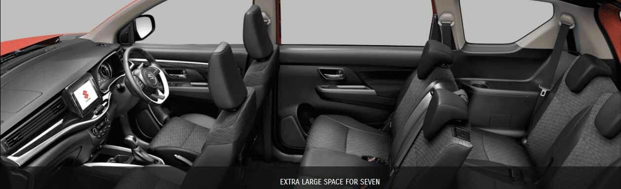 Spesifikasi dan Tampilan Interior Suzuki xl7