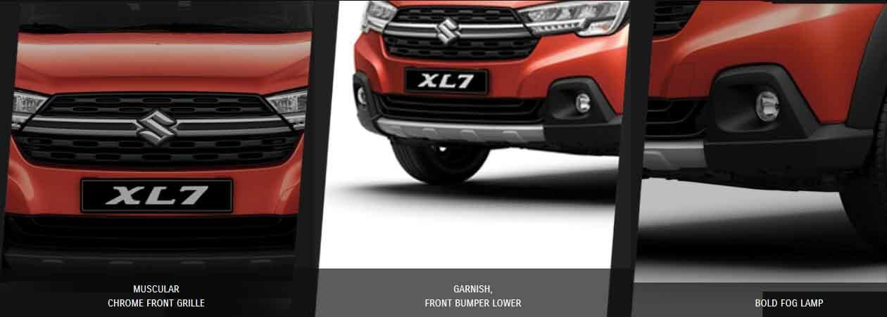 Spesifikasi dan Tampilan Depan Suzuki xl7