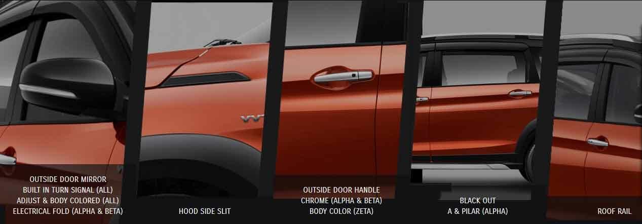 Spesifikasi dan Tampilan Samping Suzuki xl7