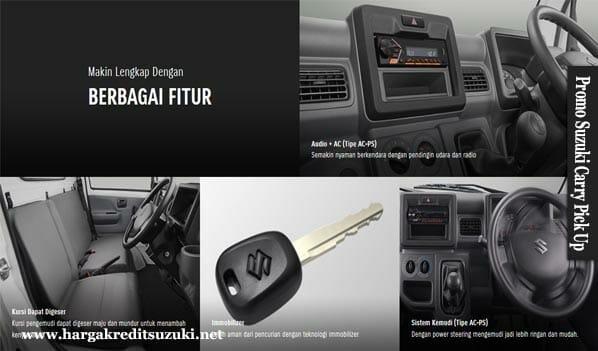 Berbagai Fitur Menarik dari Suzuki Carry Pick Up