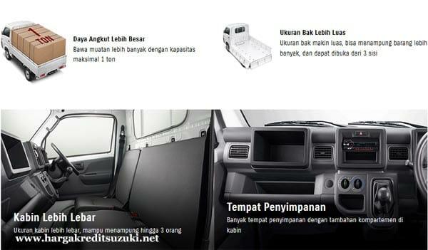 Gambar Spesifikasi Interior Suzuki New Carry Pick Up